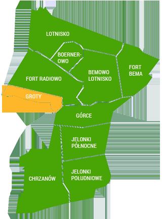 Mapa Bemowa
