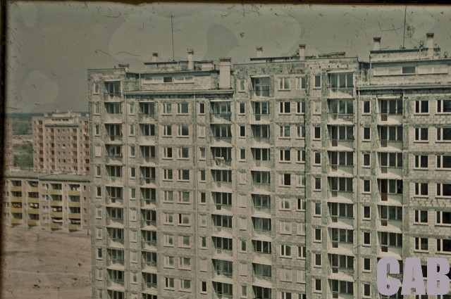 Jelonki - blok Czumy 12 w budowie