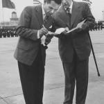 Lotnisko Babice - Wizyta Nixona 1959 (1)