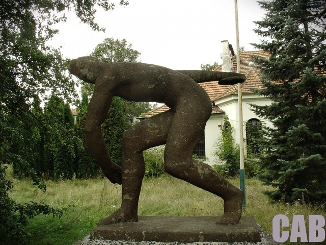 CWKS Legia - dyskobol