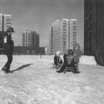 Jelonki 1981 rok - ul. Borowej Góry