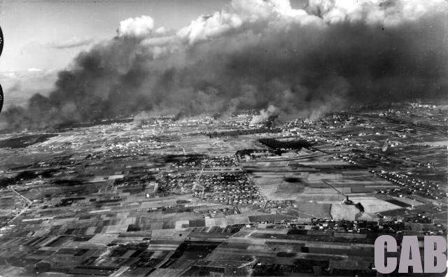 Jelonki - zdjęcie lotnicze z września 1939 r.