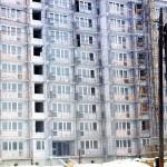 Blok przy Łagowskiej 1/3 w budowie