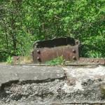 Fundament z fragmentem masztu transatlantyckiej Centrali Radiotelegraficznej