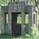 Budka wartownicza przy dawnej Transatlantyckiej Centrali Radiotelegraficznej