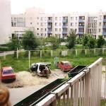 Widok z ul. Pirenejskiej 20 - 1997r.