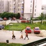 Widok z ul. Pirenejskiej 20 - 2000r.