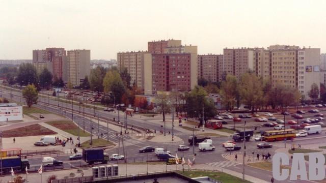 Powstańców Śląskich / Radiowa w 2000 r.