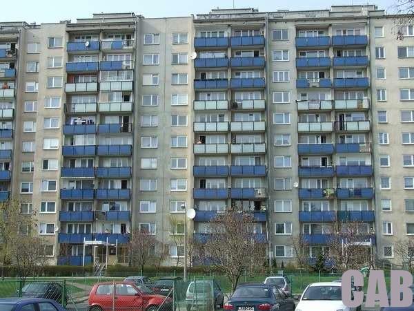 Blok przy ul. Łagowskiej przed termomodernizacją