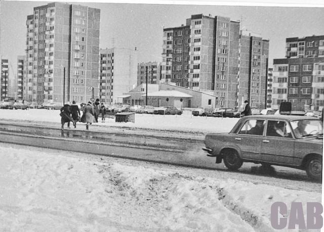 ul. Powstańców Śląskich i bloki przy Lencewicza