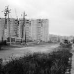 Budowa bloku Anieli Krzywoń 2 1975 r.