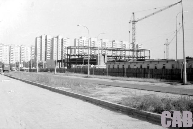 budowa Hali Wola