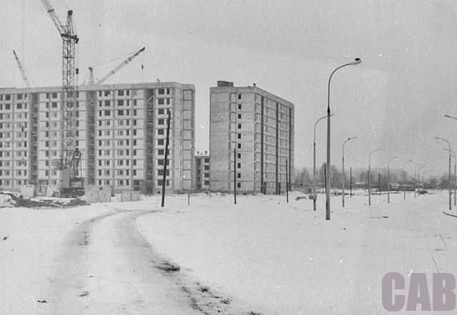 Ul. Wrocławska 1983 r.