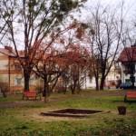Plac Kasztelański przed modernizacją, 2003 r.