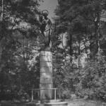 Figura Matki Boskiej wg. projektu Jana Golińskiego