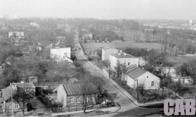ul. Oświatowa w 1980 r.