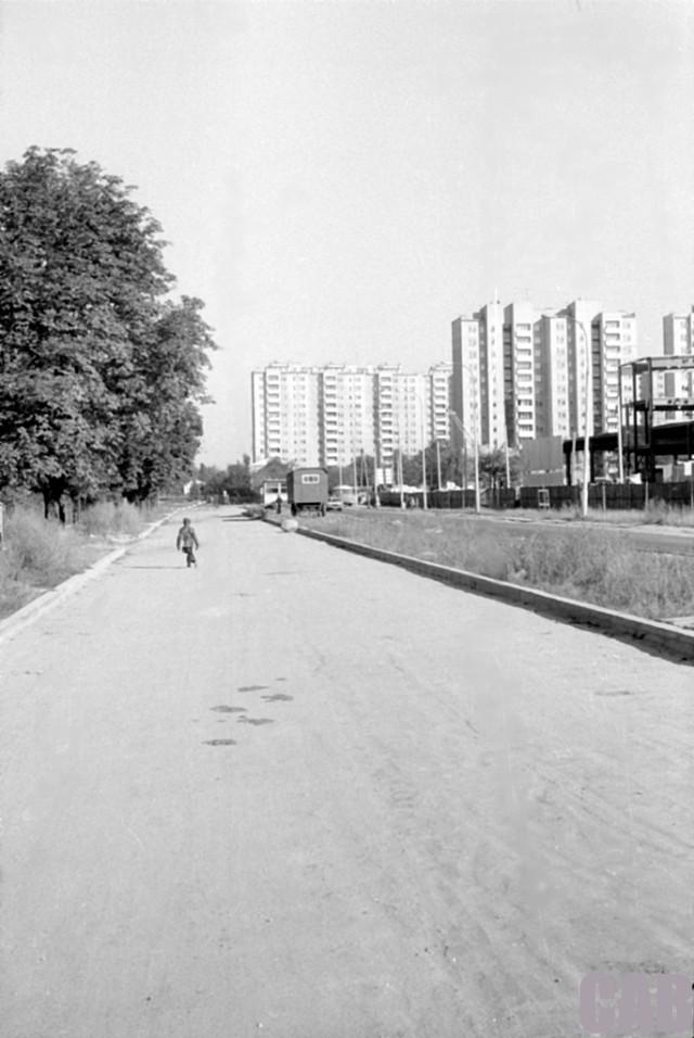 ul. Człuchowska w 1979 r.