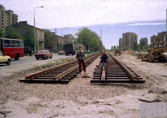 Budowa linii tramwajowej