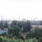 warszawskie city widziane z Jelonek - 2000