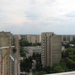 Anieli Krzywoń - widok z dachu