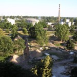 Połczyńska - pozostałości campingu