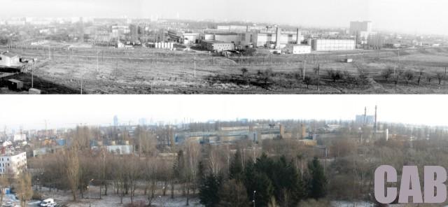 Polanka przy torach kolejowych 1978-2008