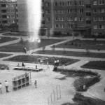 Podwórko między blokami przy Czumy i Kossutha
