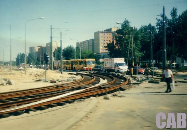 budowa linii tramwajowej na Bemowo