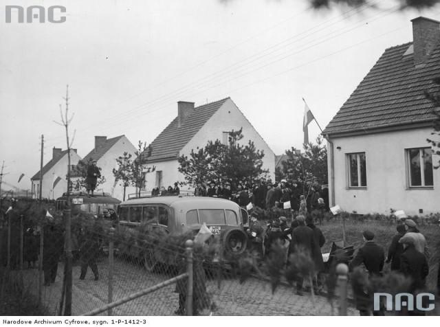 Osiedle Łączności, 1936 r.