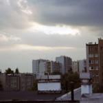 widok z dachu Kossutha