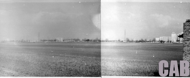 Widok na Lazurową z Szeligowskiej