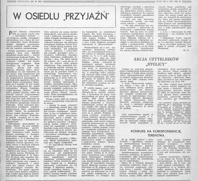 Tygodnik Stolica 23/1952