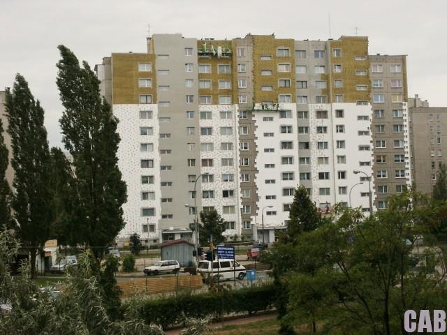 Docieplanie bloku Widawska 9