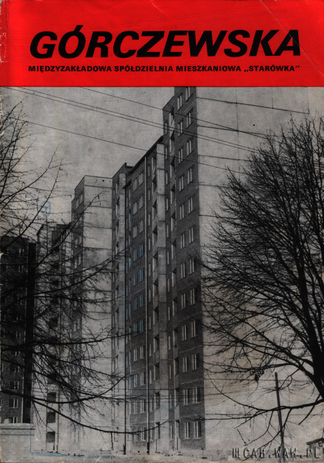 Folder informacyjny osiedla Górczewska (str1)