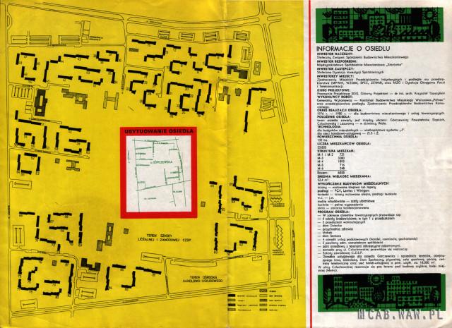 Folder informacyjny osiedla Górczewska (str2)