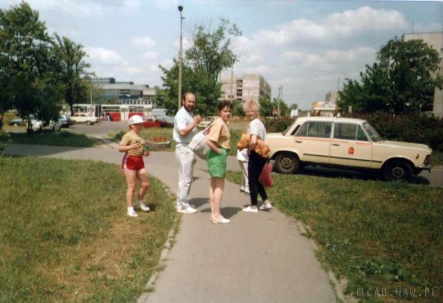 Os. Górczewska, okolica pętli autobusowej