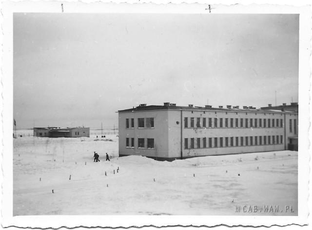 Koszary wojskowe, dziś budynki WAT