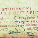 Pieczątka zakładu foto na Jelonkach