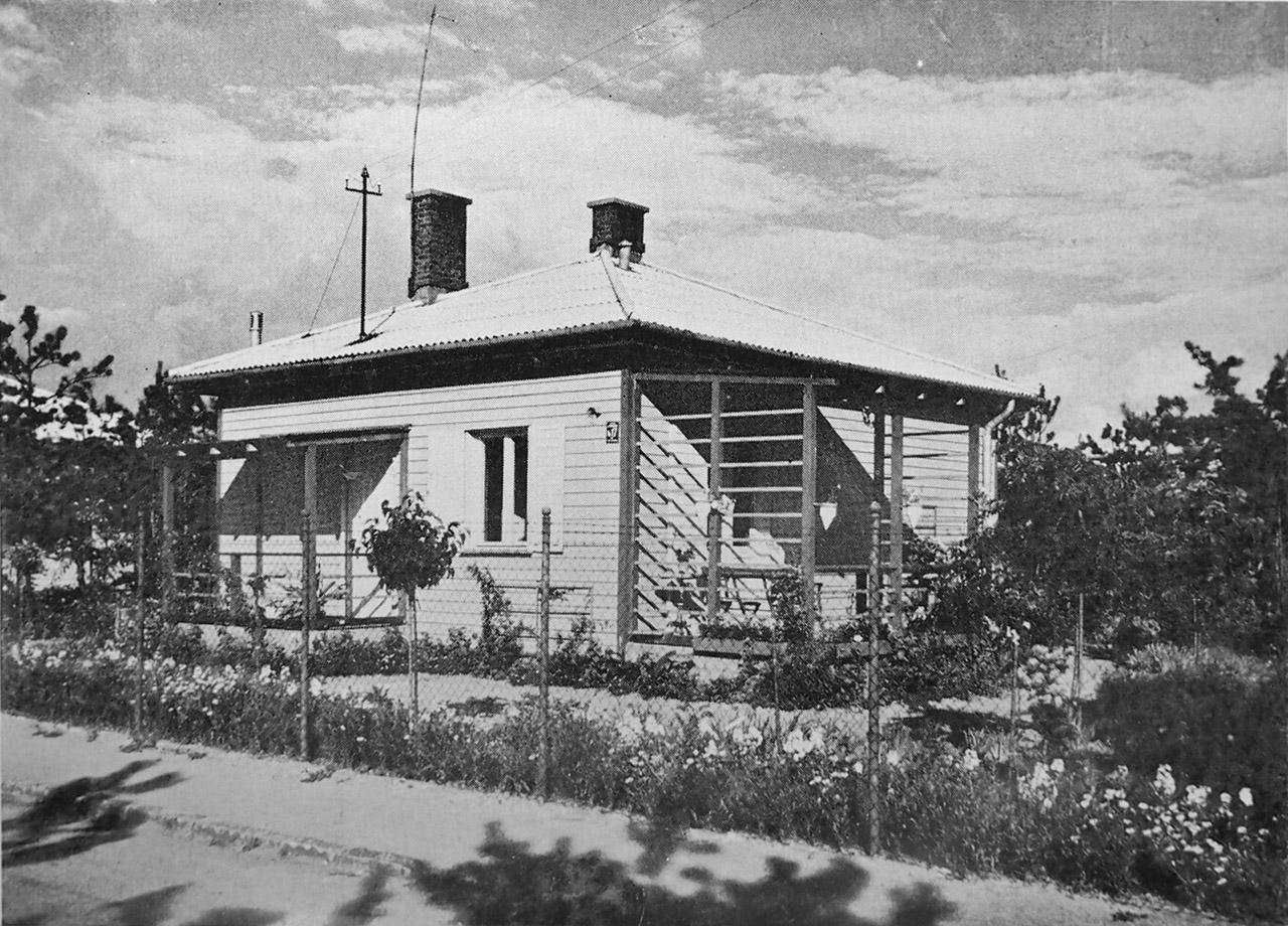 Dom przy ul. Boernera (obecnie Kunickiego)