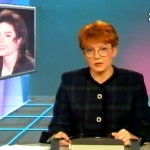 Fragmenty programów informacyjnych nadanych dzień po koncercie Michaela Jacksona na bemowskim lotnisku.