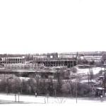 Gmach główny WAT w budowie