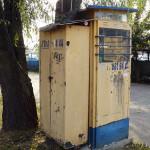 Budka taxi przy Radiowej