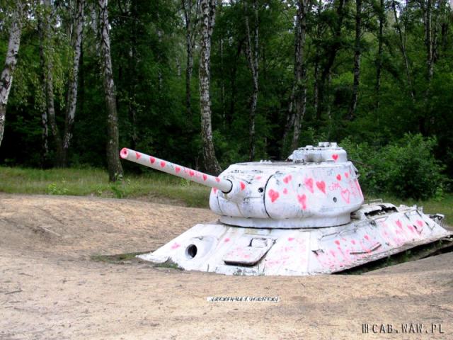 Widok pierwszego czołgu T-34, WAT