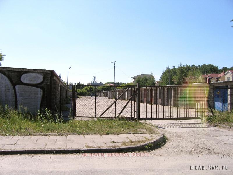 Garaże przy ul. Gąsiorowskiego