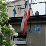 Stara tabliczka miasta ogrodu Jelonki
