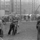 Czyn społeczny na Osiedlu Lazurowa - 1978 r.