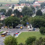 Ul. Górczewska i Lazurowa przed przebudową