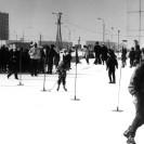 Zima na Bemowie Lotnisku - lata 80.