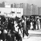 Zima na Bemowie Lotnisku – lata 80.