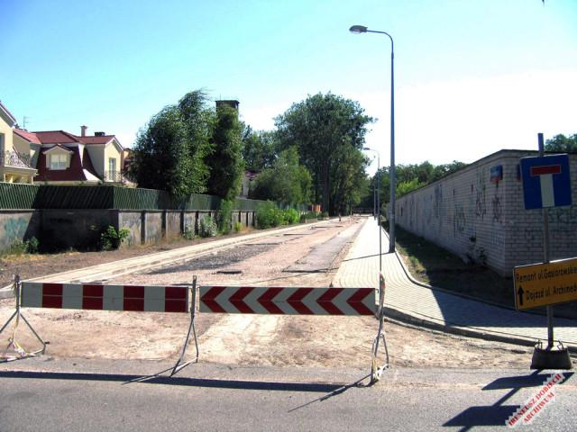 Kotłownia WAT przy ul. W. Gąsiorowskiego, 2006 r.